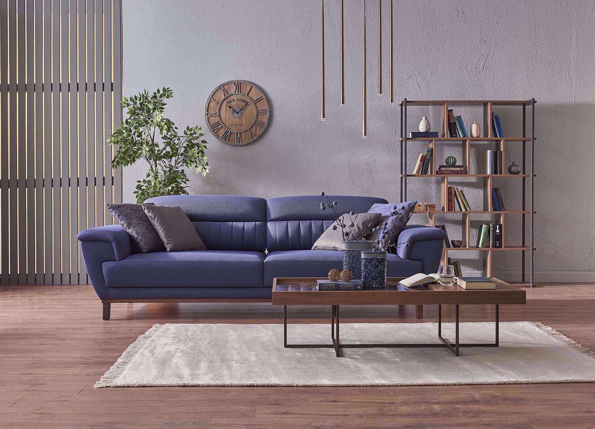 Bellar Three-Seat Sofa (Doubles as Bed)