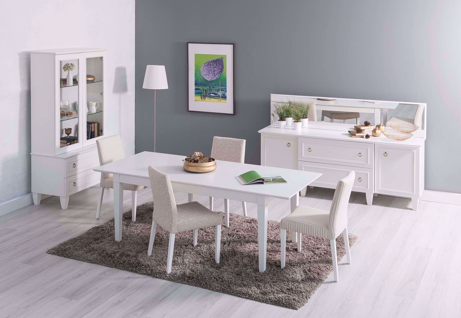 Cara Collapsible Table 160*90 cm (White)