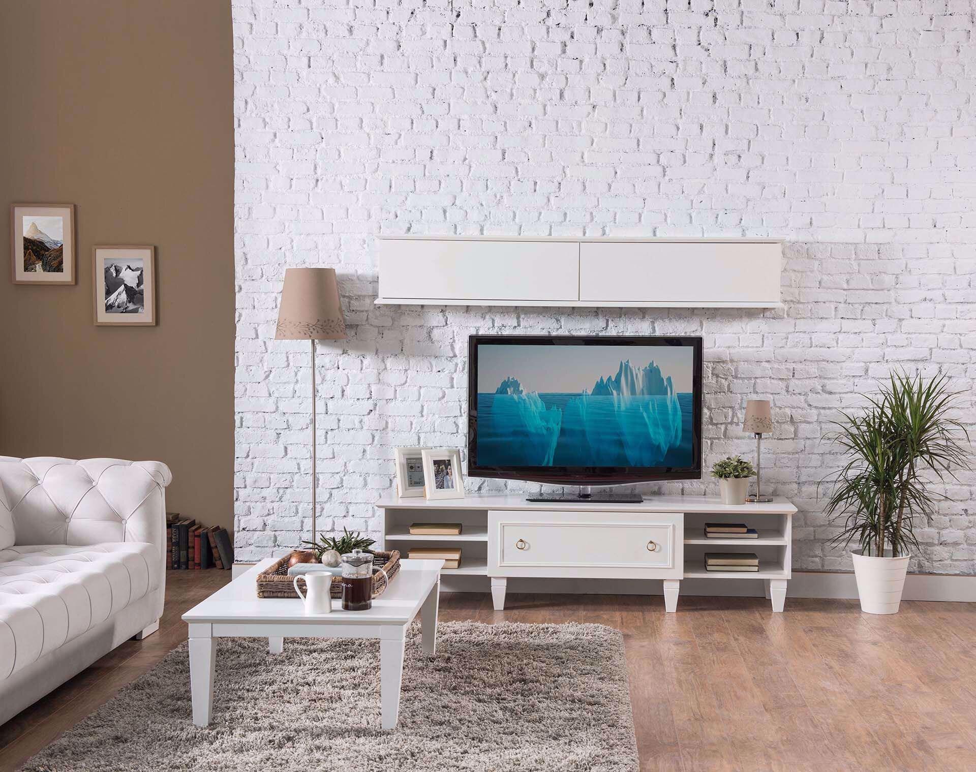 Cara TV Ünitesi (Beyaz)