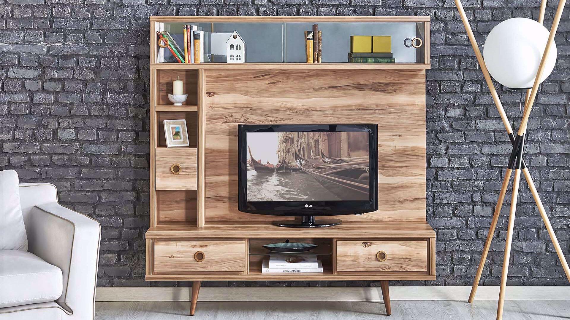 Queen Tv Alt Ünite 160 Cm (Tropic Ceviz)