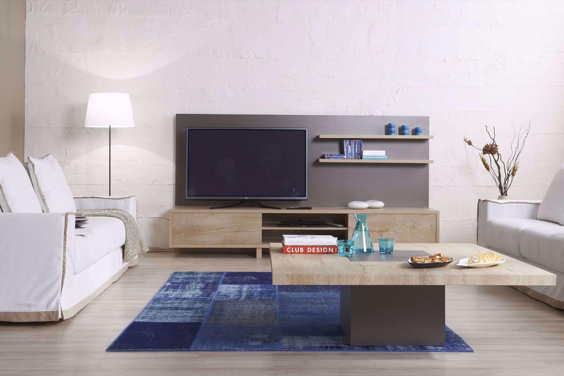 Redoro Tv Arka Pano Ve Raflar (250 Cm)