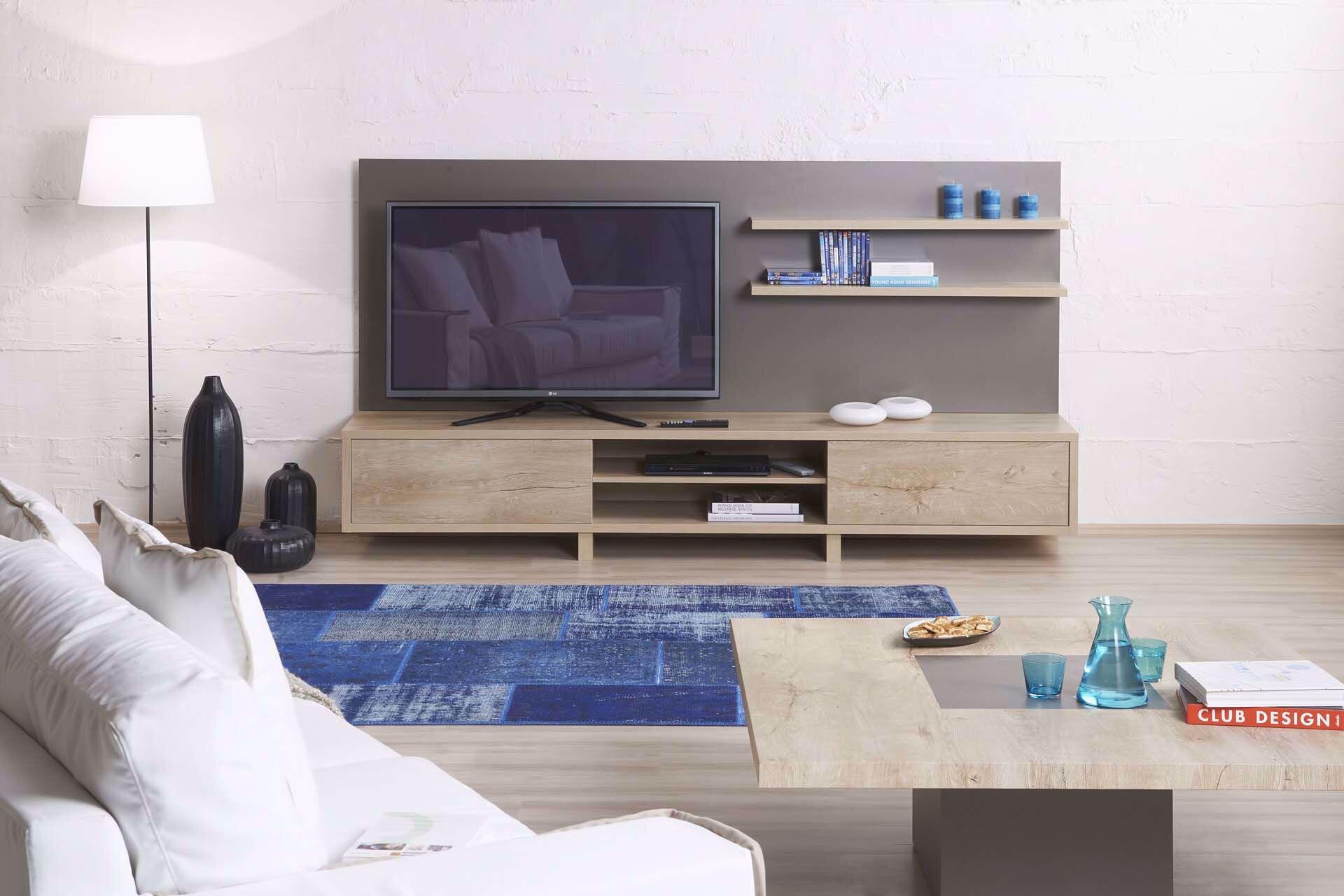 Redoro Tv Arka Pano Ve Raf 180 Cm