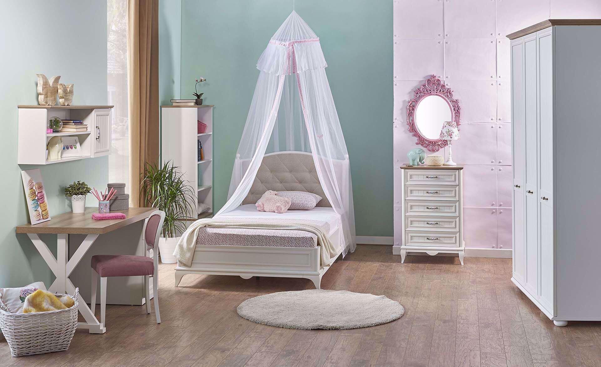 Angelic Dresser Mirror (Pink)