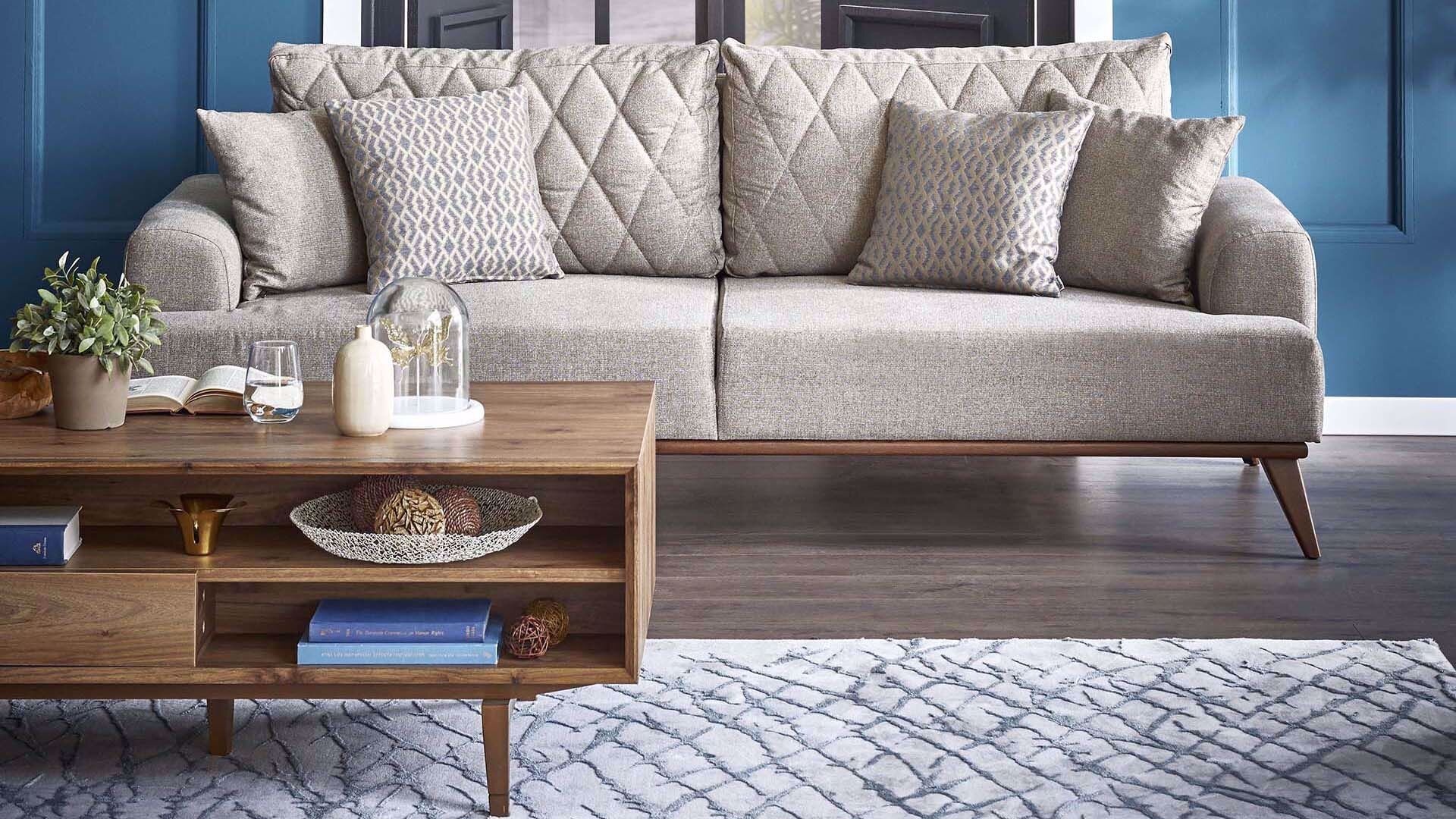 Messina Three-Seat Sofa (Doubles as Bed)