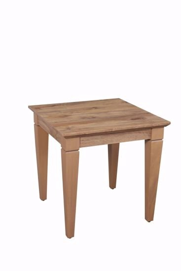 Cara Corner Table Square (Amalfi Walnut)