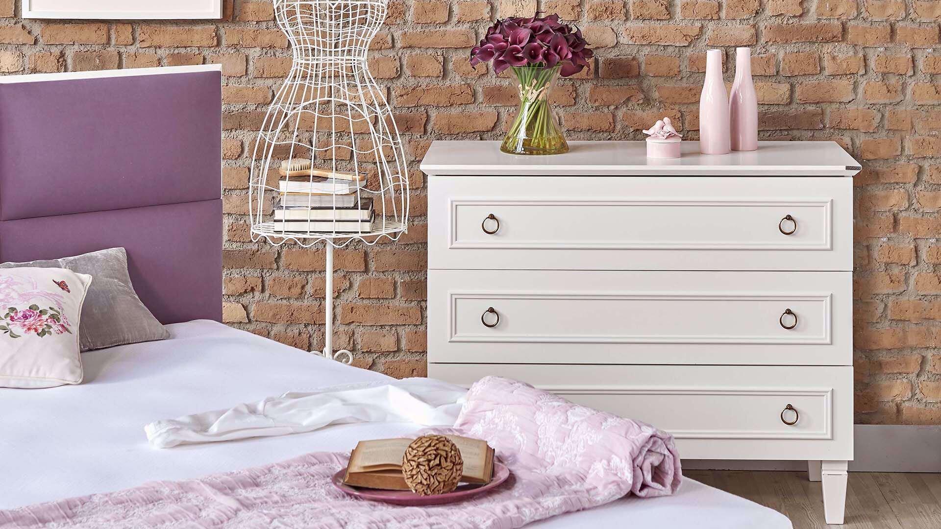 Cara Dresser (White)