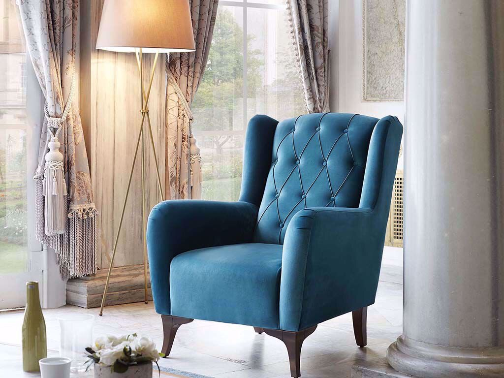 Sophia Chesterfield Armchair