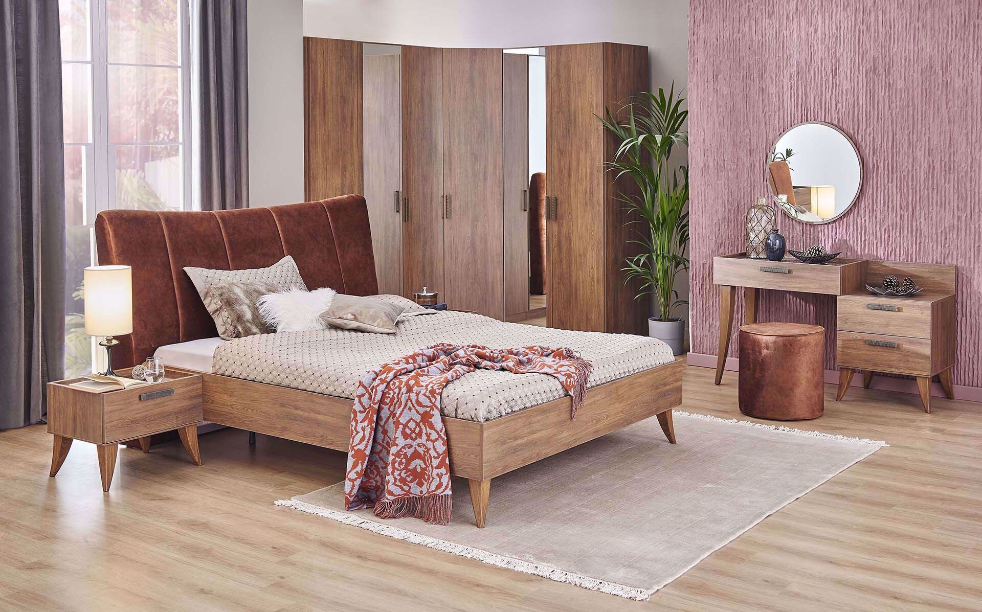 Claudia Bedstead (with Base) 160*200cm (Incl. Headboard)