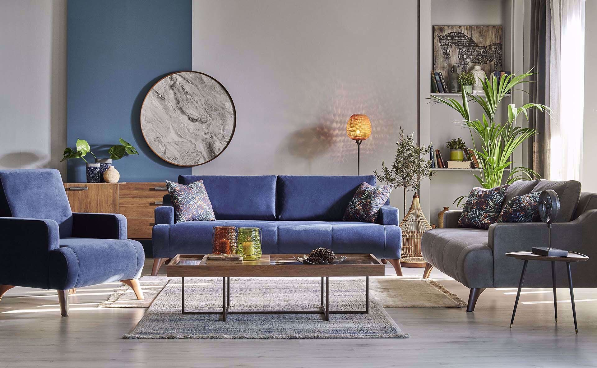 Norma Two-Seat Sofa