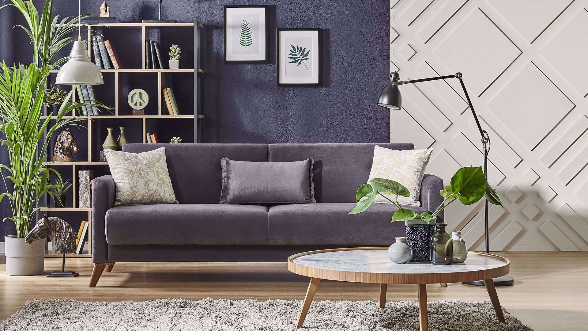 Orion Three-Seat Sofa