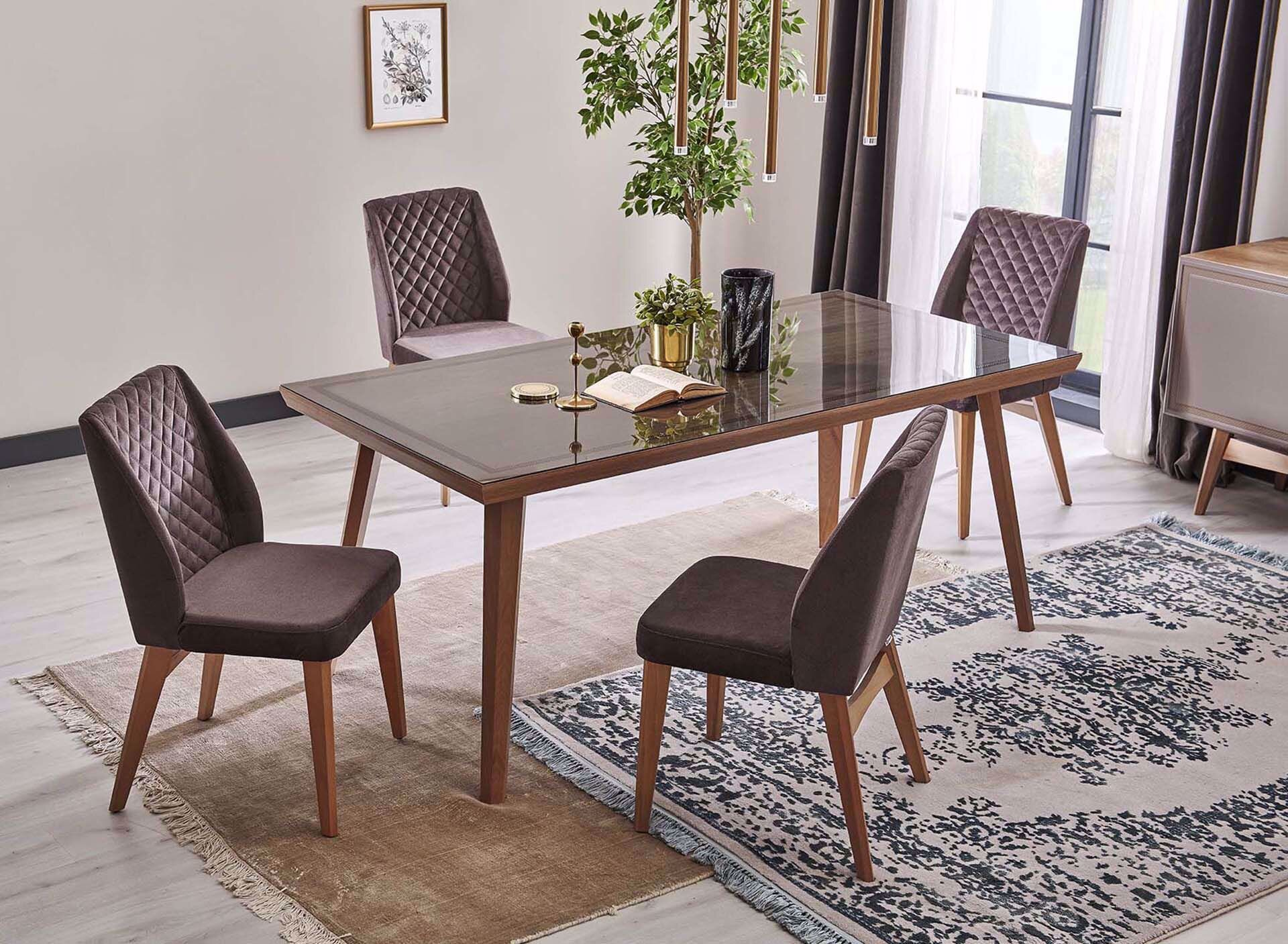 Camilia Fixed Dining Table 180 Cm
