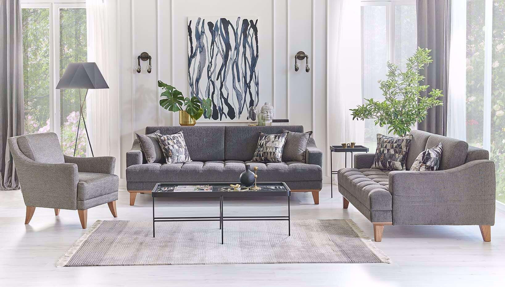 Flore Sofa Set