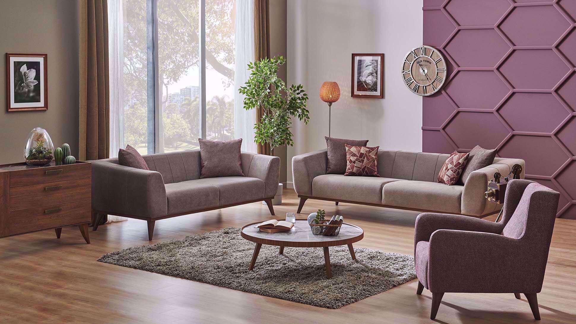 Palemo Sofa Set