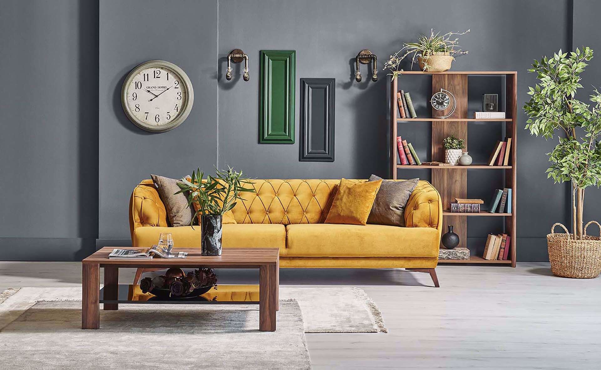 Marselle Three Seater (Sofabed)