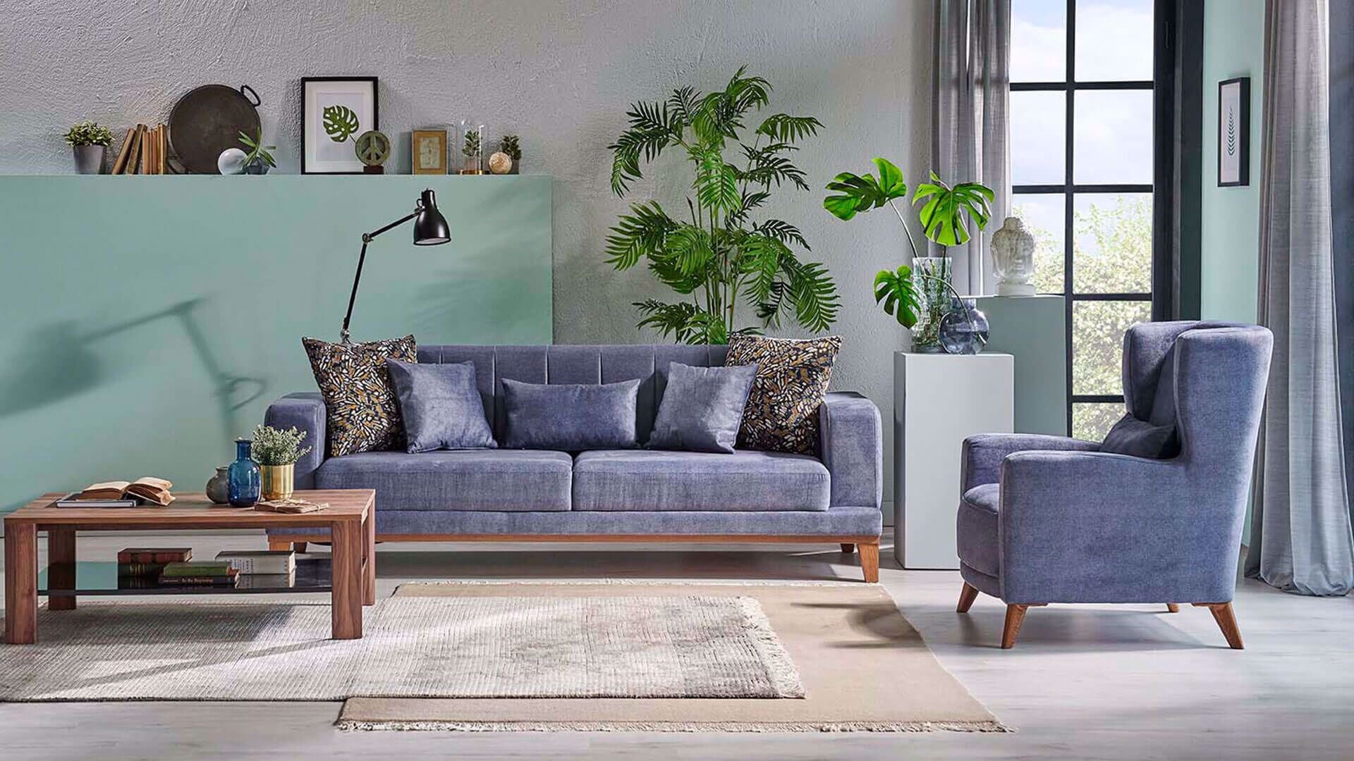 Selis Three-Seat Sofa (Doubles as Bed)