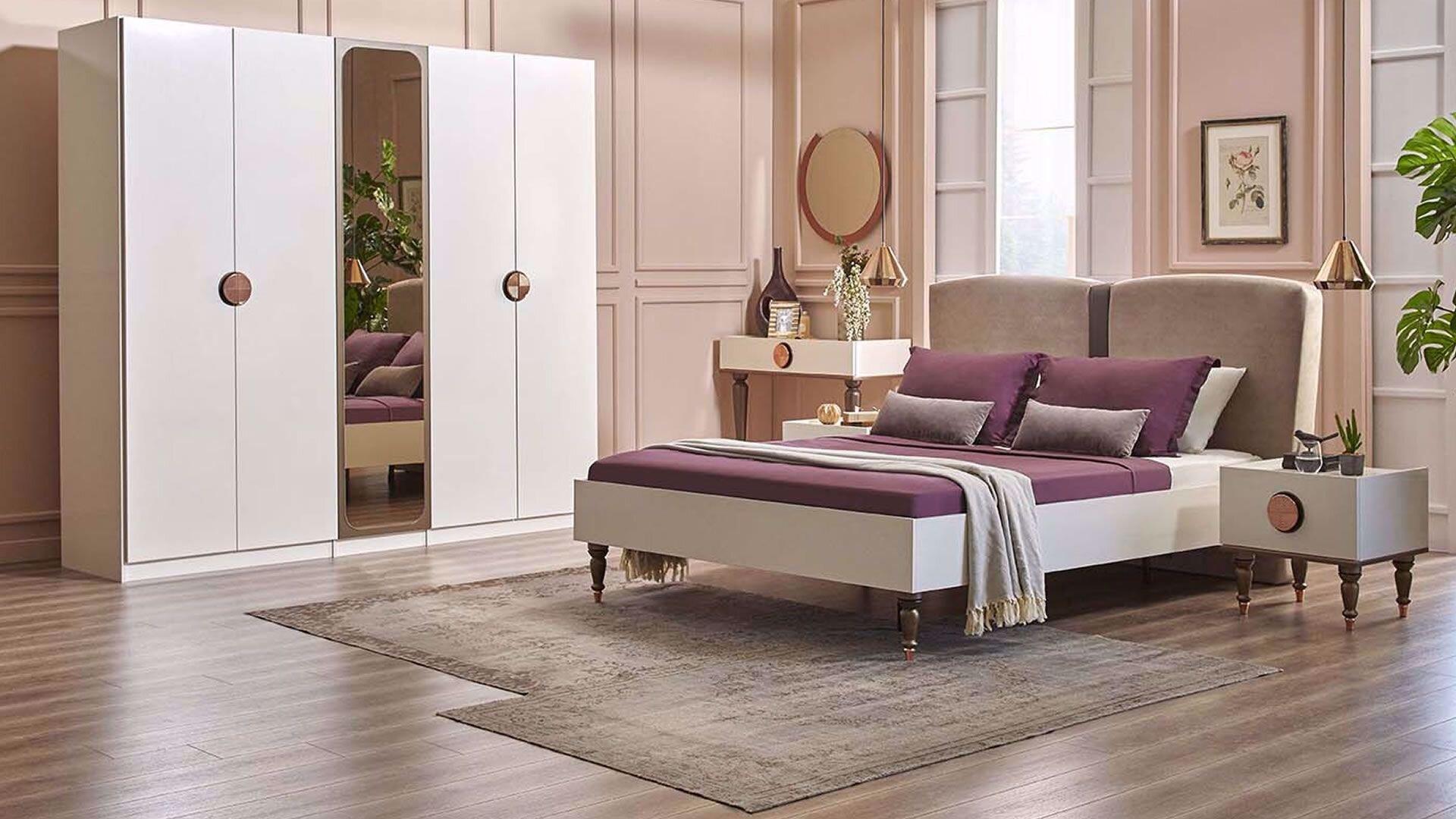 Levana 5 Doors Wardrobe (230 cm)