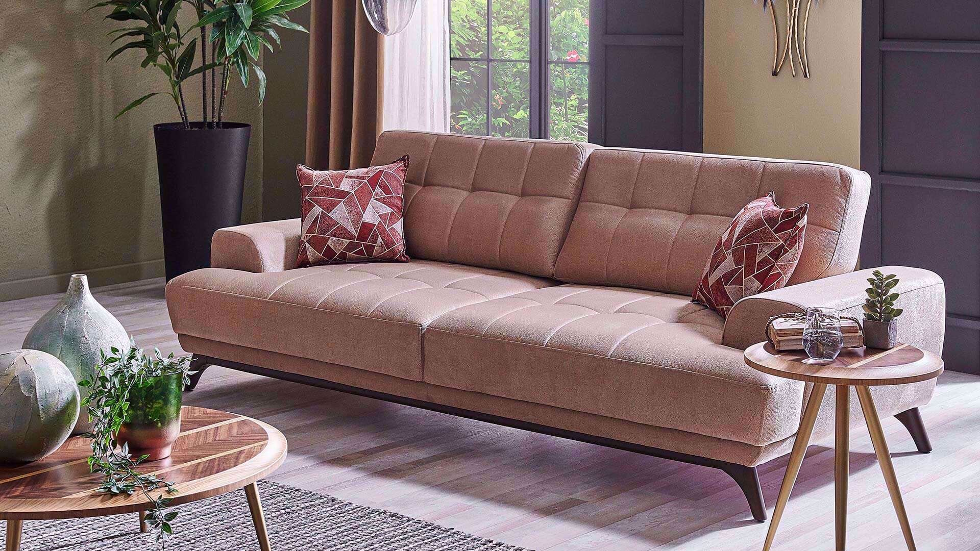 Martis Three-Seat Sofa (Doubles as Bed)