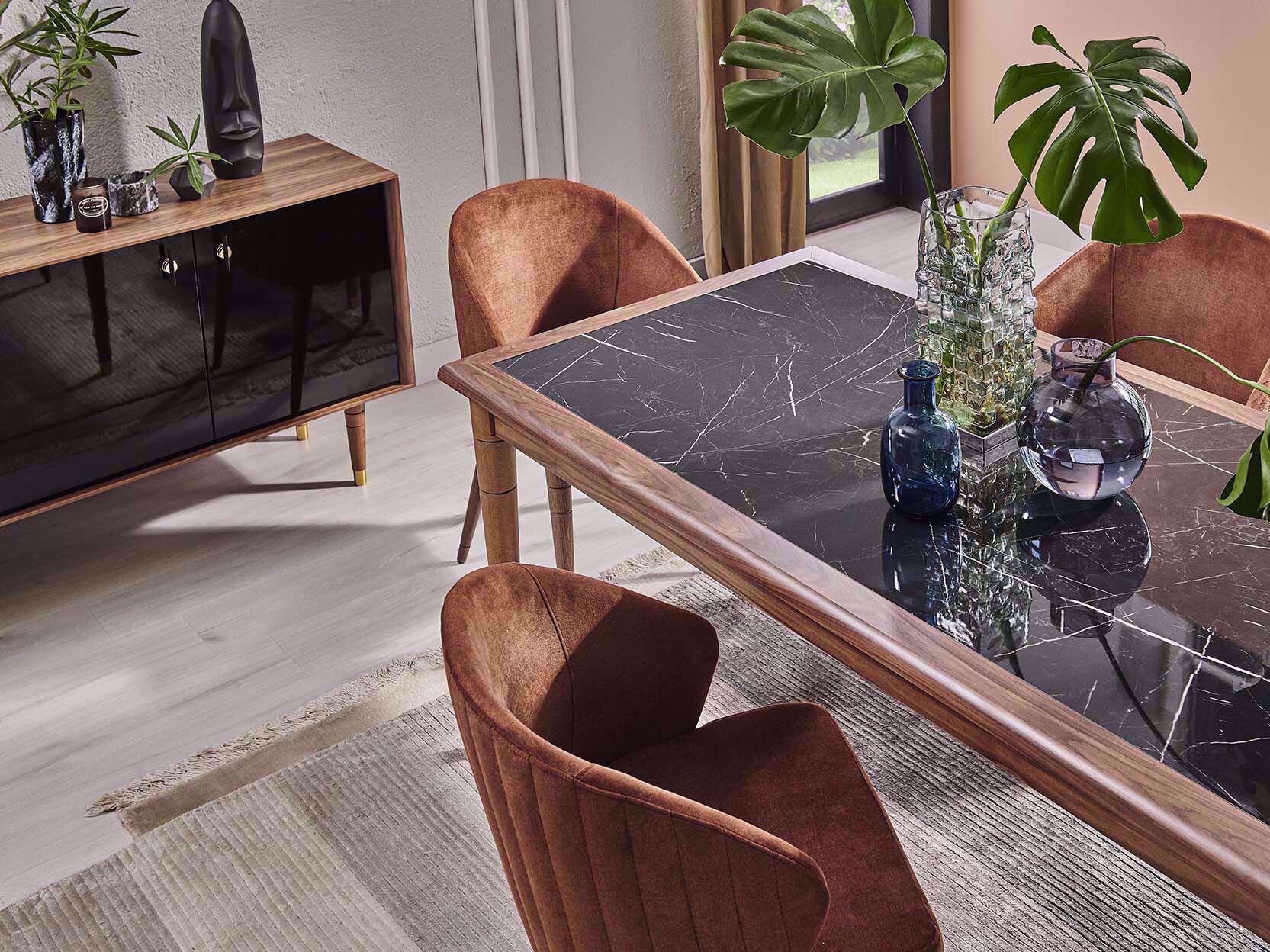 Vanensi Fixed Dining Table (180*90 cm)