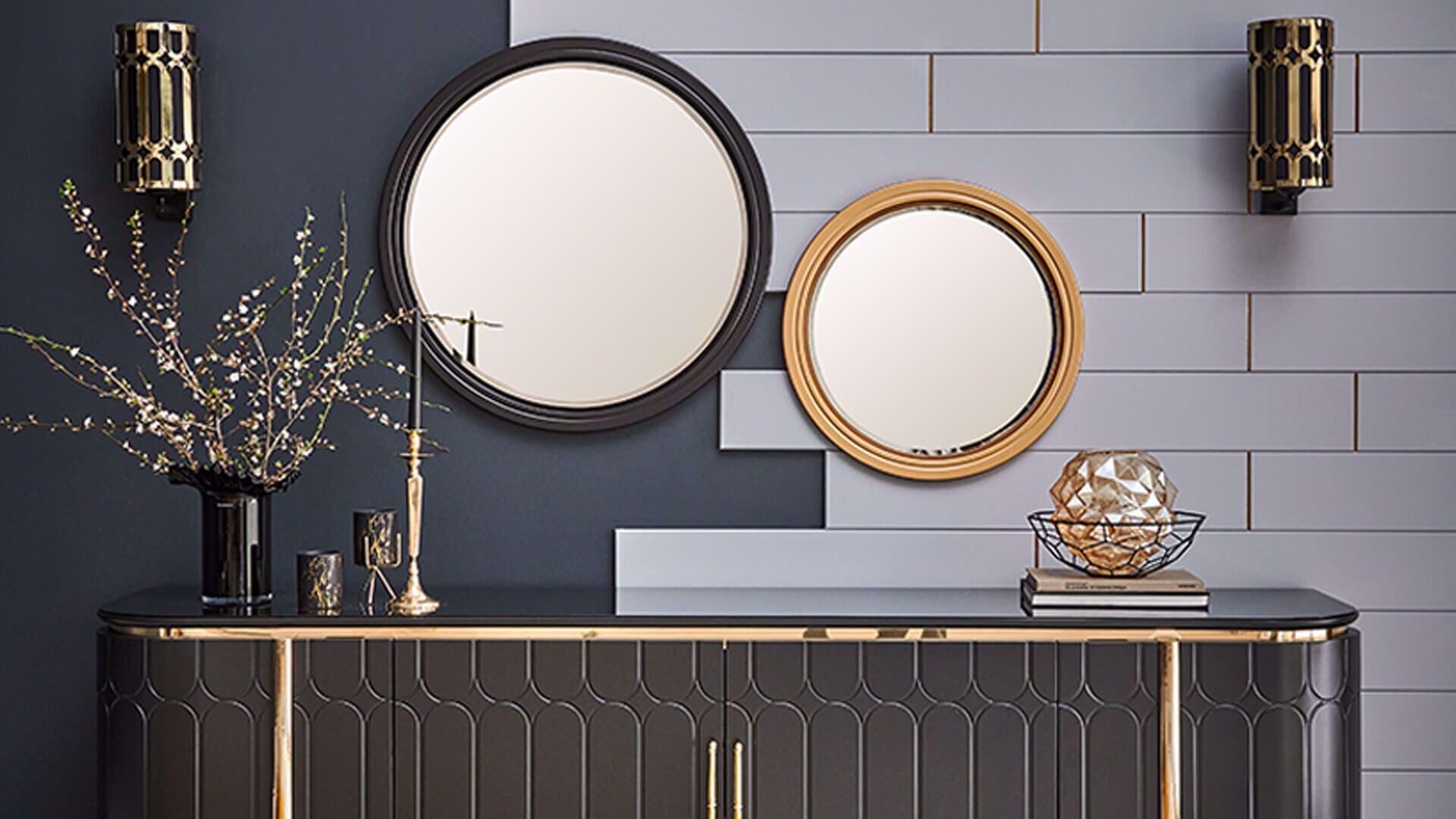 Serenity Konsol Küçük Ayna