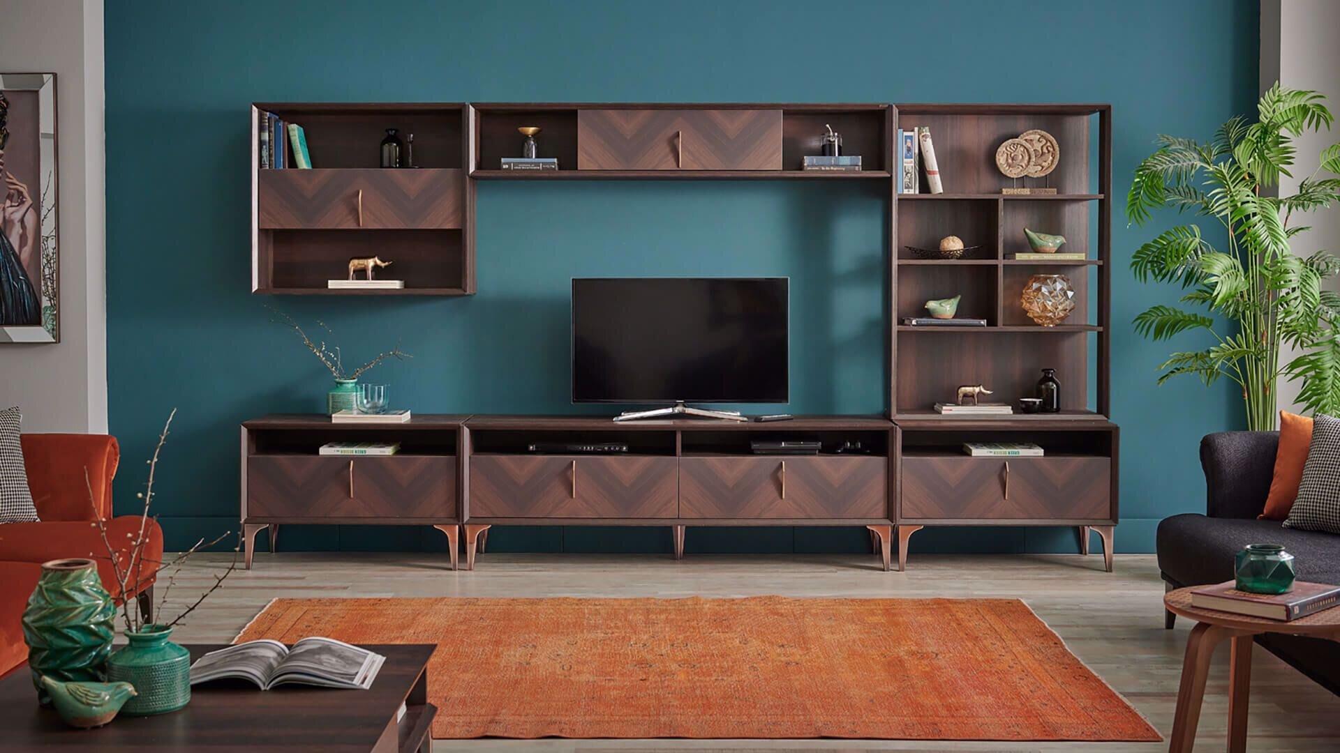 Welmont Tv Üst Kitaplık (90 Cm)
