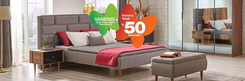 Vanensi Yatak'ta %50 İndirim Fırsatı!