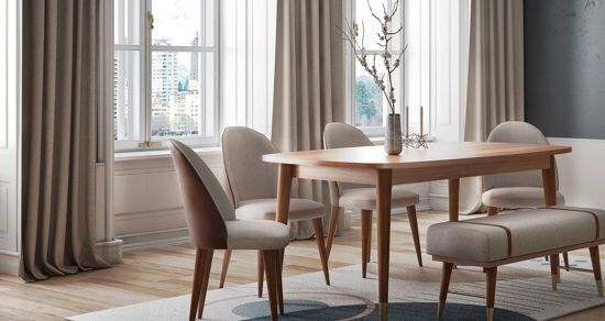 Nordic Açılır  Masa (160*90Cm)