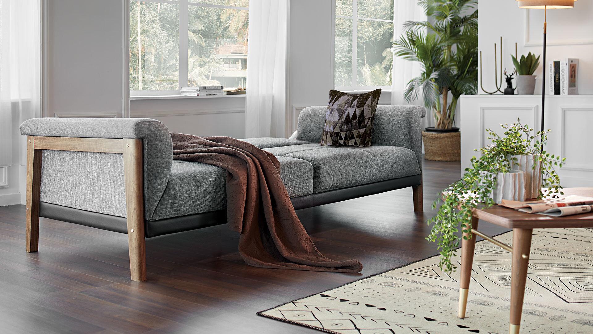 Nordic Üçlü Koltuk (Yataklı)