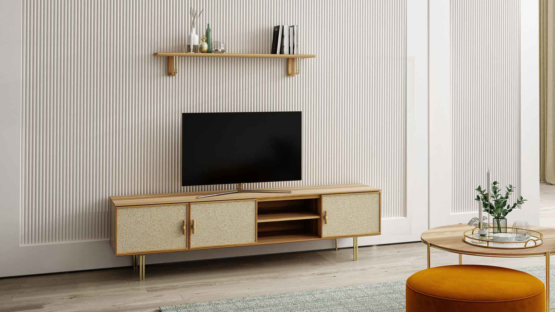 Norel Tv Alt Ünite (180Cm)